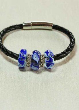 bracelet-3-perles-bleues
